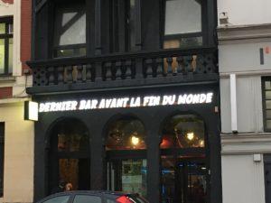 Bar Avant la fin du monde